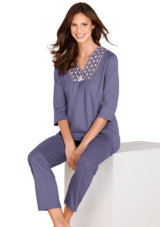 Schlafanzug in lavendel