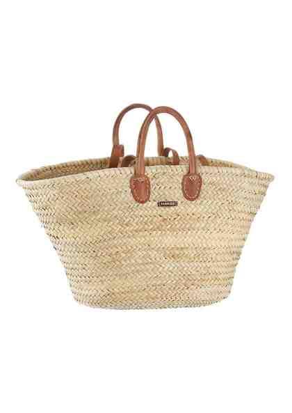 fabrizio® Korbtasche, perfekt für den Strand