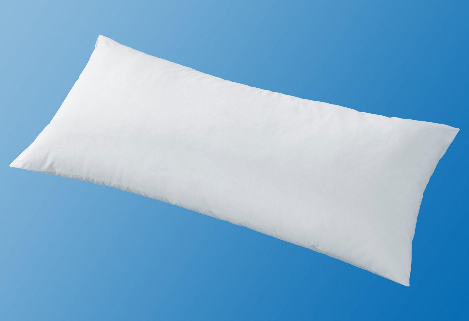 Feder-/Faserkopfkissen, »Natural HYBRID«, Ribeco, 50% Federn, Polyester-Faserkügelchen
