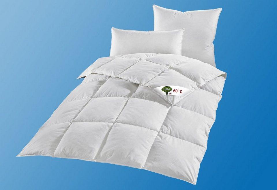 Feder-/Faserbettdecke Ribeco Natural HYBRID®«, Warm