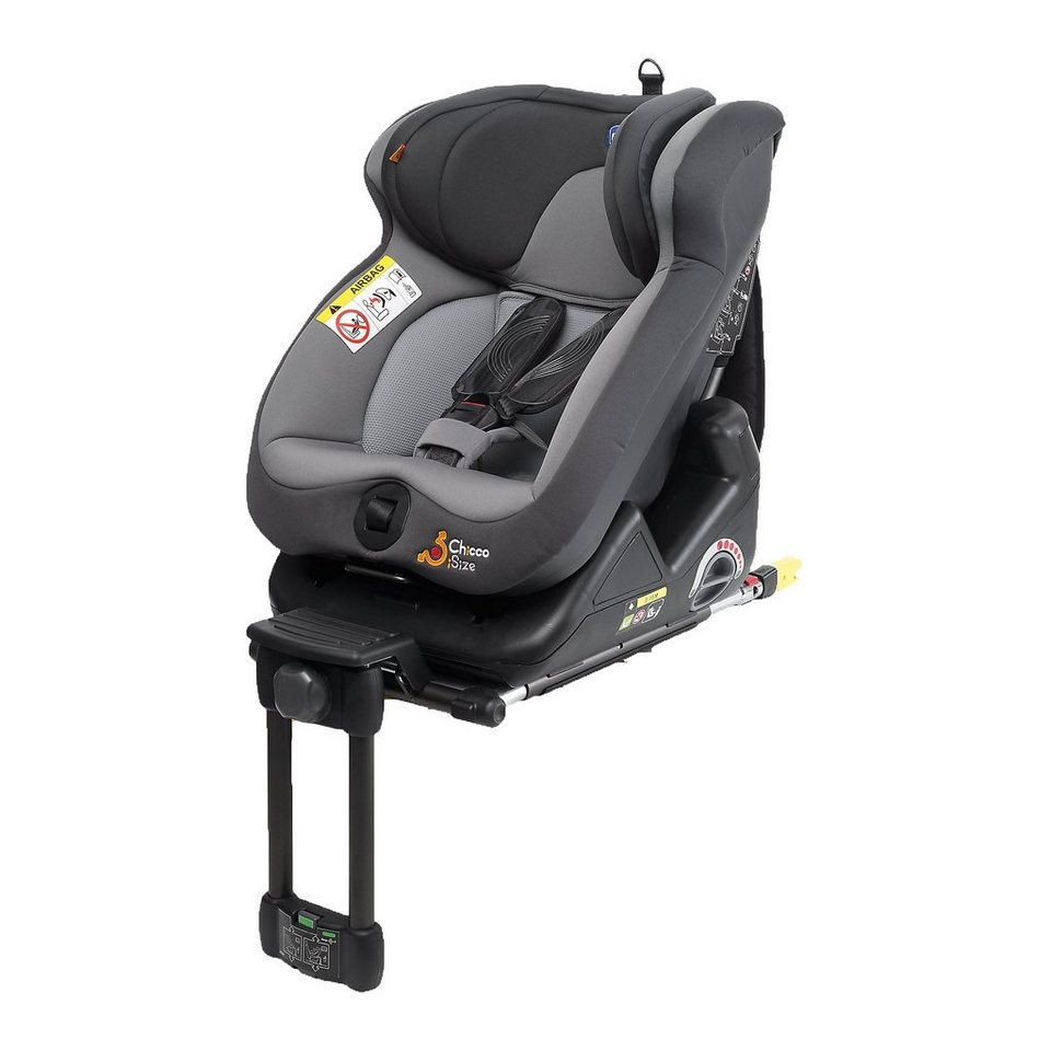 CHICCO Auto-Kindersitz I-Size, grey in grau