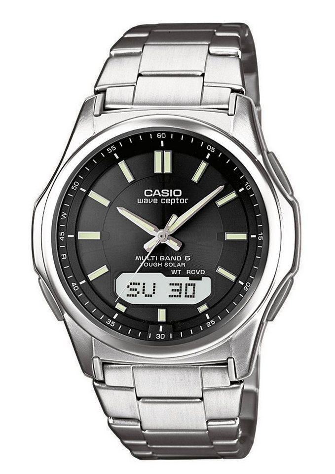 Casio Funk Funkchronograph »WVA-M630TD-1AER« in silberfarben