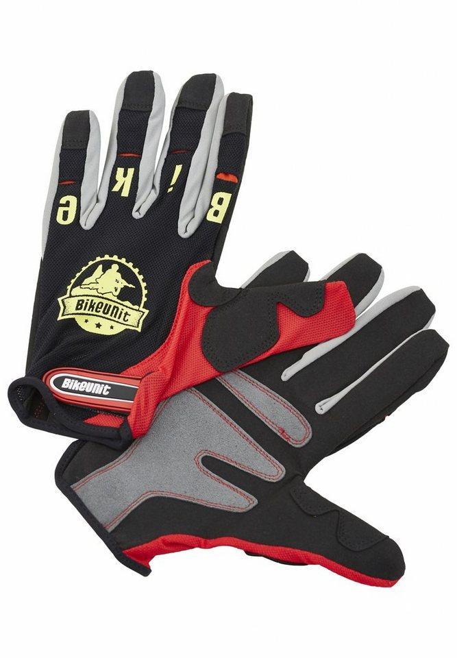 Bikeunit Fahrrad Handschuhe »Gravity Pro Bike Glove« in bunt