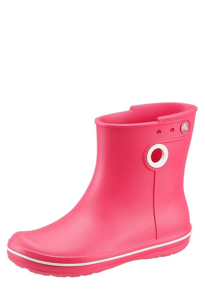 Crocs »Jaunt Shorty Boot« Gummistiefel in pink