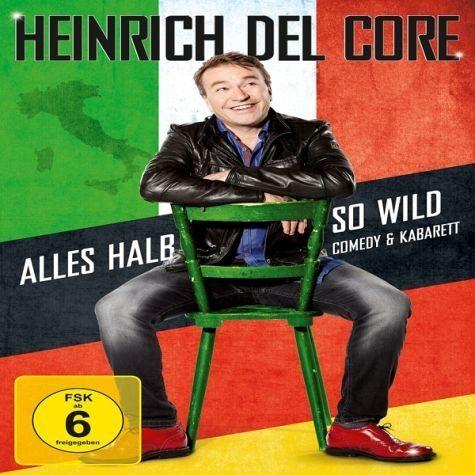 DVD »Heinrich Del Core - Alles halb so wild (+...«