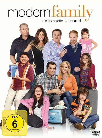 DVD »Modern Family - Die komplette Season 4 (3 Discs)«