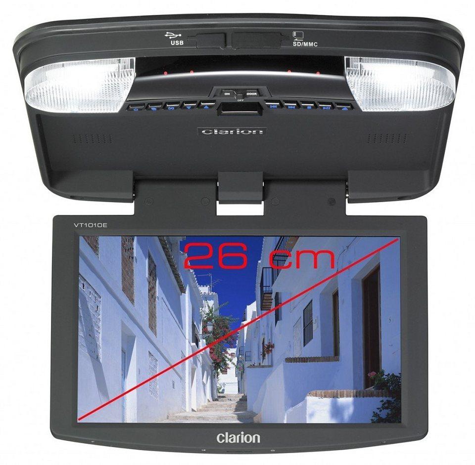 Clarion TFT Overhead Monitor »VT1010E« in schwarz