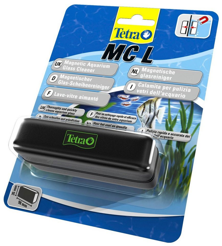 Aquariumpflege »Tetra Magnet Cleaner L« Reinigung für Süß- und Meerwasseraquarien in schwarz