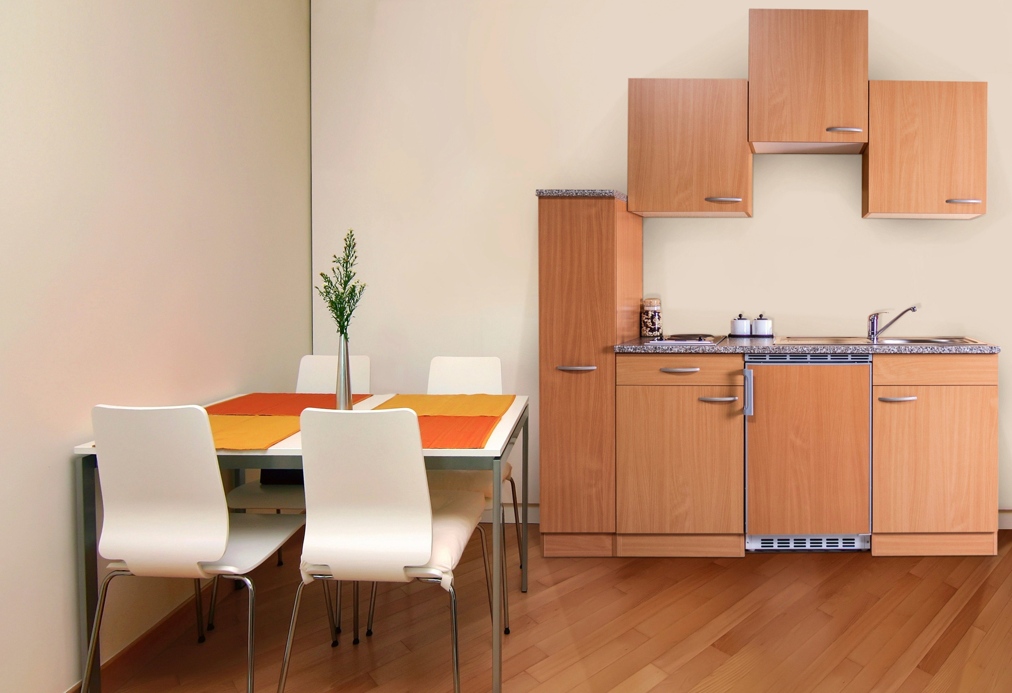 Miniküche Mit Kühlschrank 180 Cm : Miniküche breite cm online kaufen otto