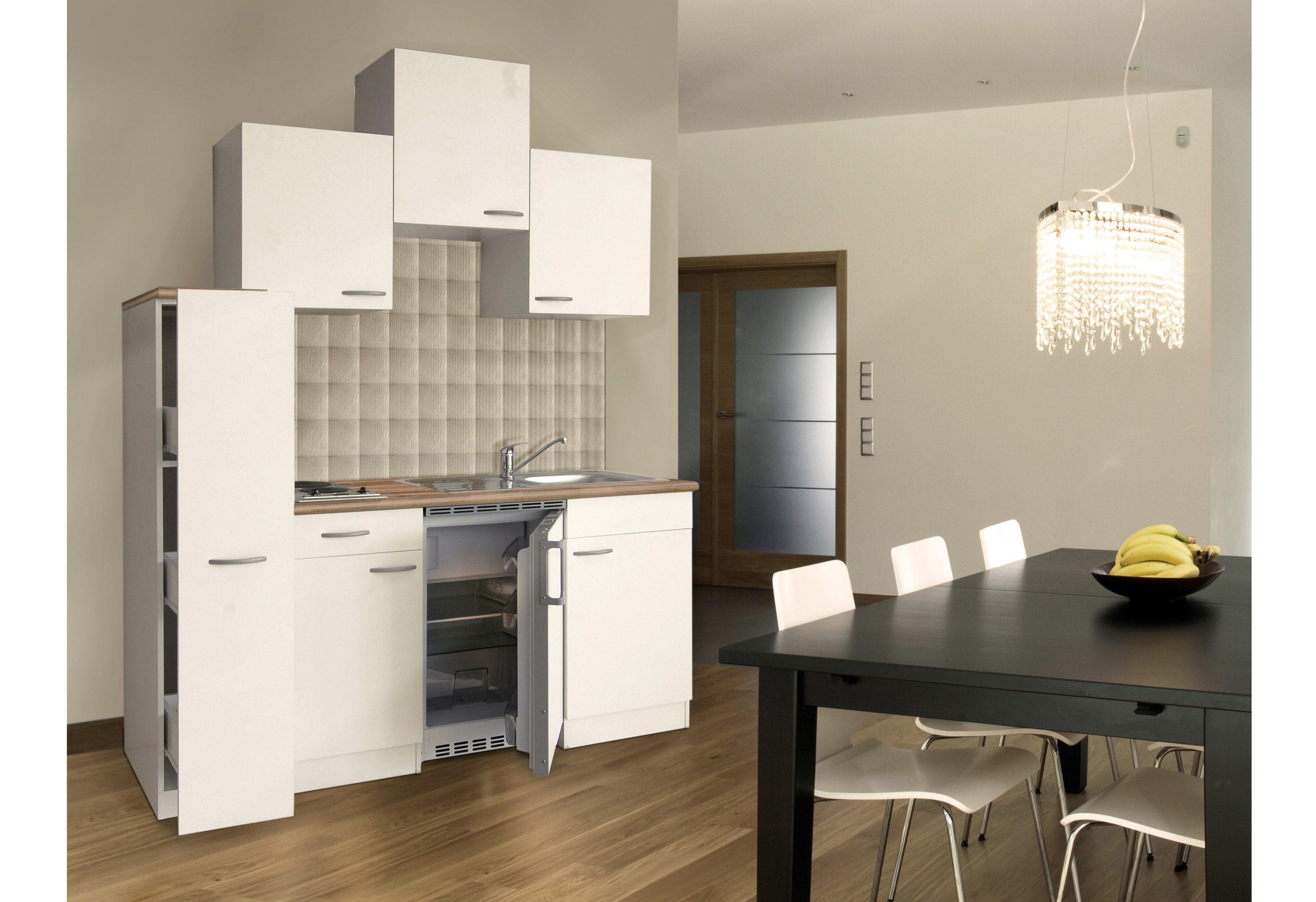 Miniküche Mit Kühlschrank Hagebaumarkt : Miniküche breite cm online kaufen otto