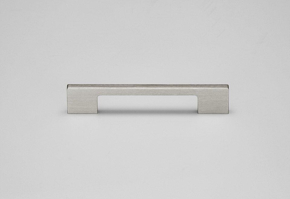 Metall-Griff, 2er Pack, in 3 Breiten in silberfarben