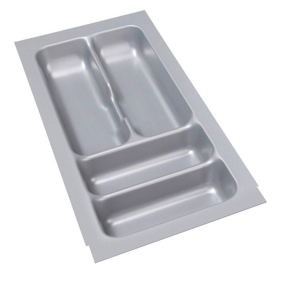 Besteckeinsatz für Schubkastenbreite 30 cm in grau
