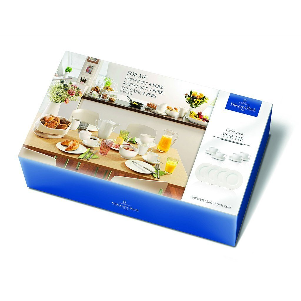 Villeroy & Boch Kaffee Set 4 Pers. »For Me«