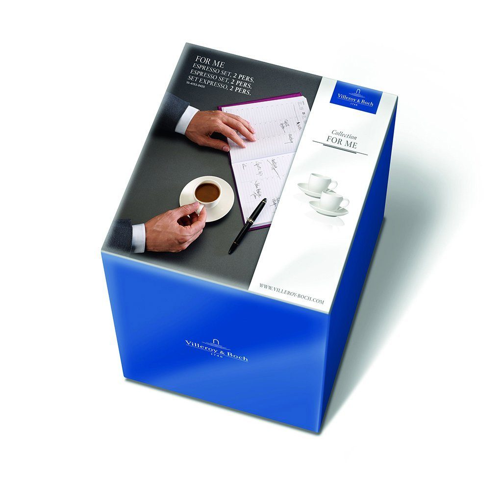 VILLEROY & BOCH Espresso Set 2 Pers. »For Me«