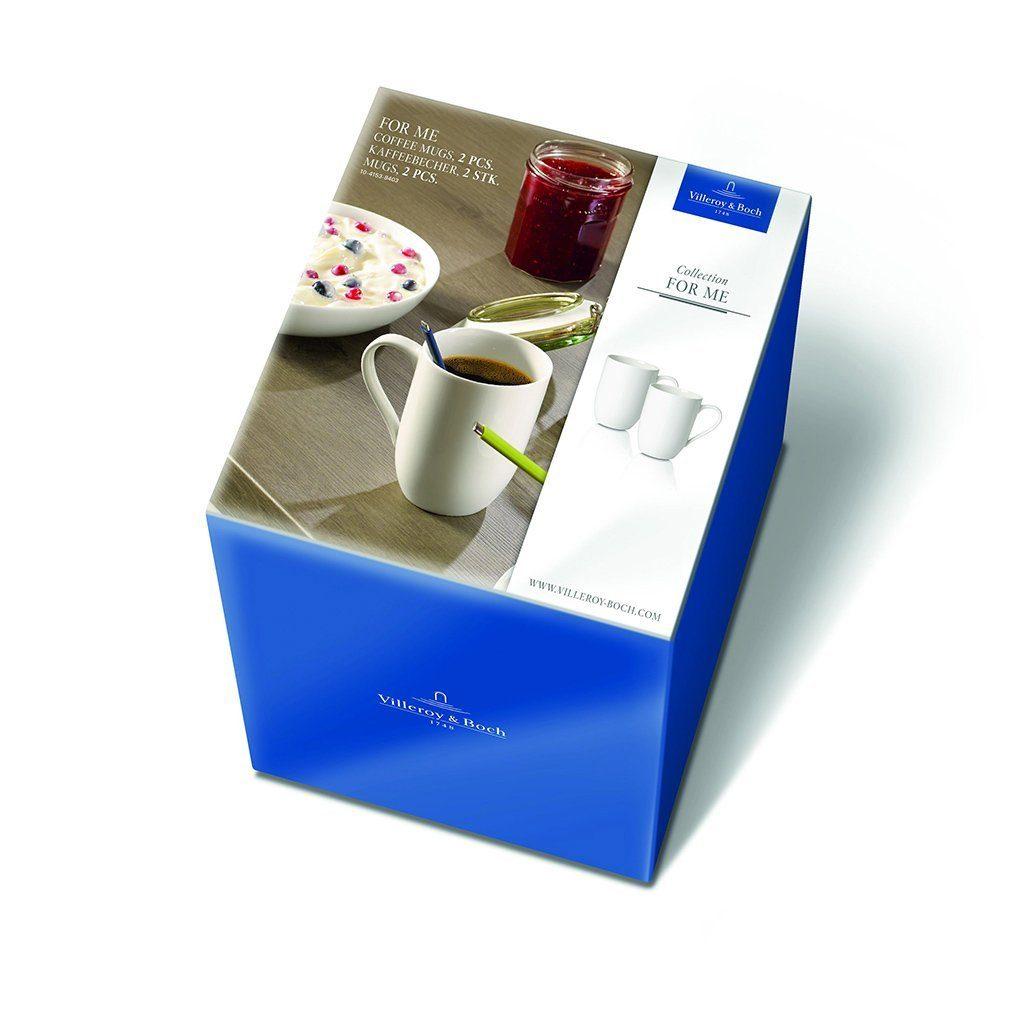 Villeroy & Boch Kaffeebecher Set 2 Stück »For Me«