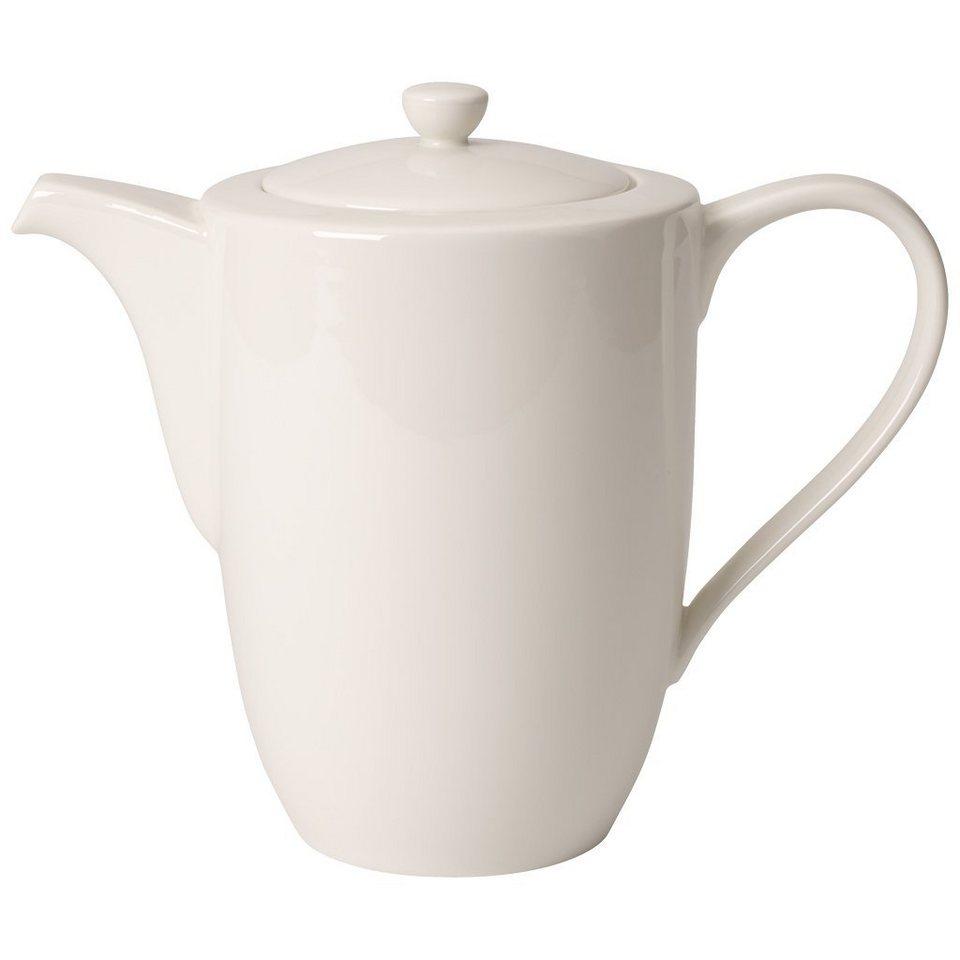 VILLEROY & BOCH Kaffeekanne 6 Pers. »For Me« in Weiss