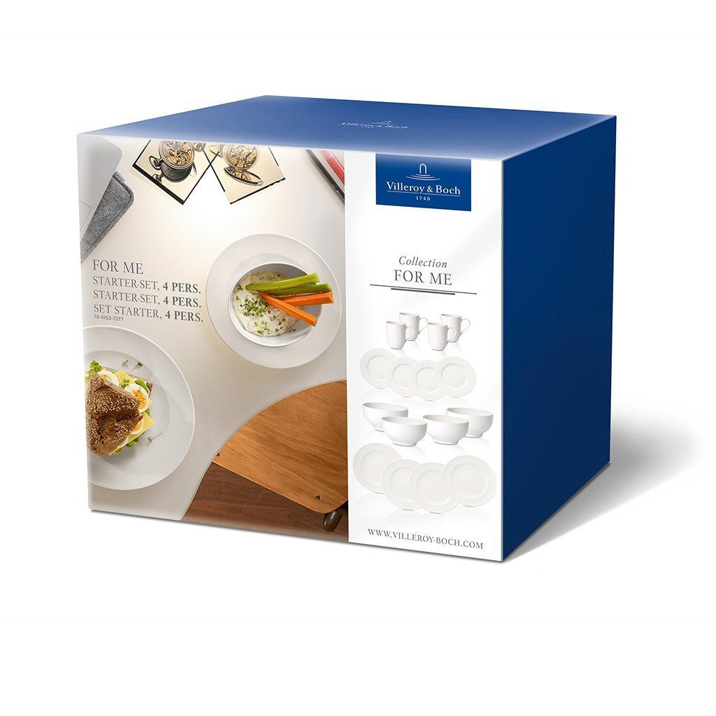 Villeroy & Boch Starter-Set 4 Pers. »For Me«