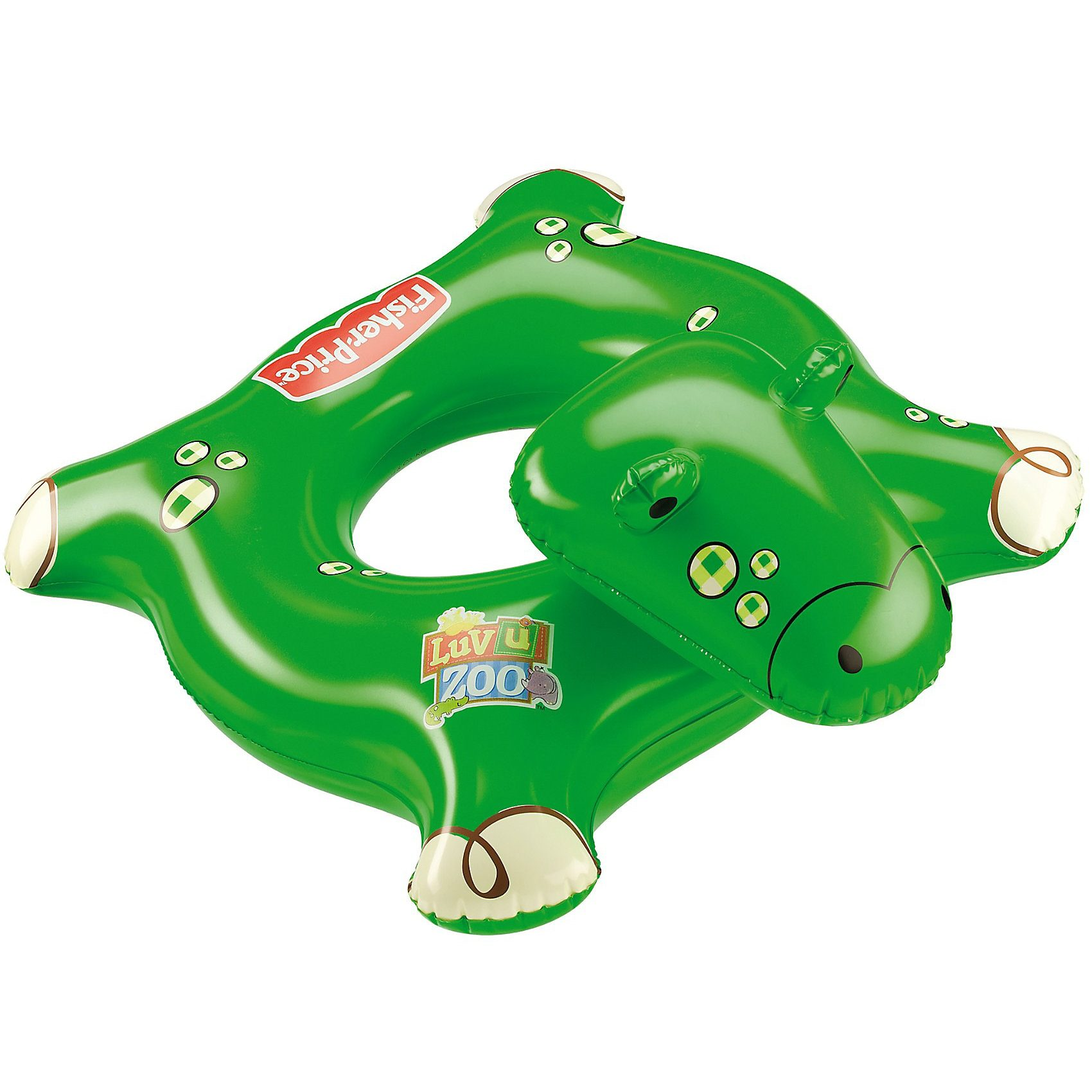 Happy People Fisher Price Schwimmring Krokodil