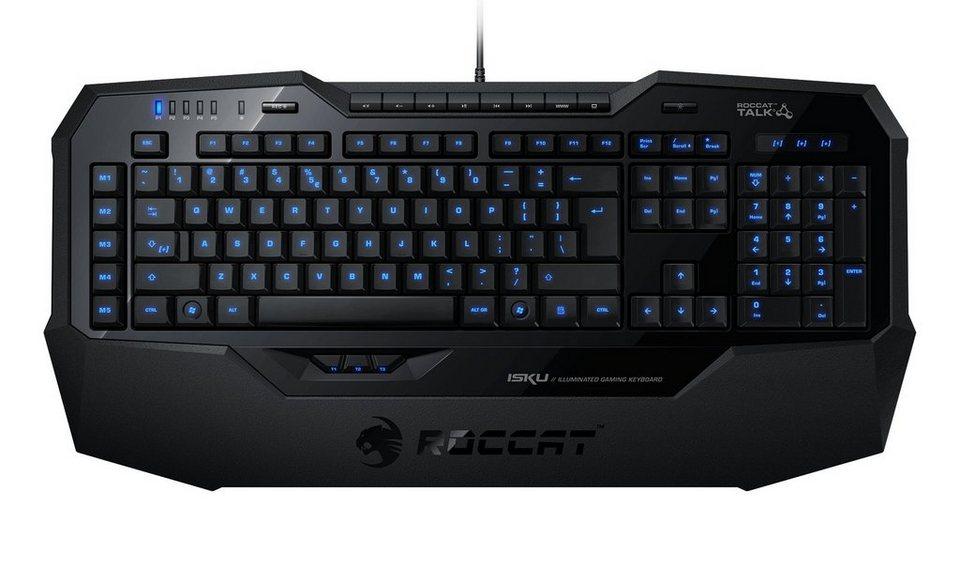 ROCCAT Gaming Tastatur »Isku Illuminated Gaming Keyboard DE«