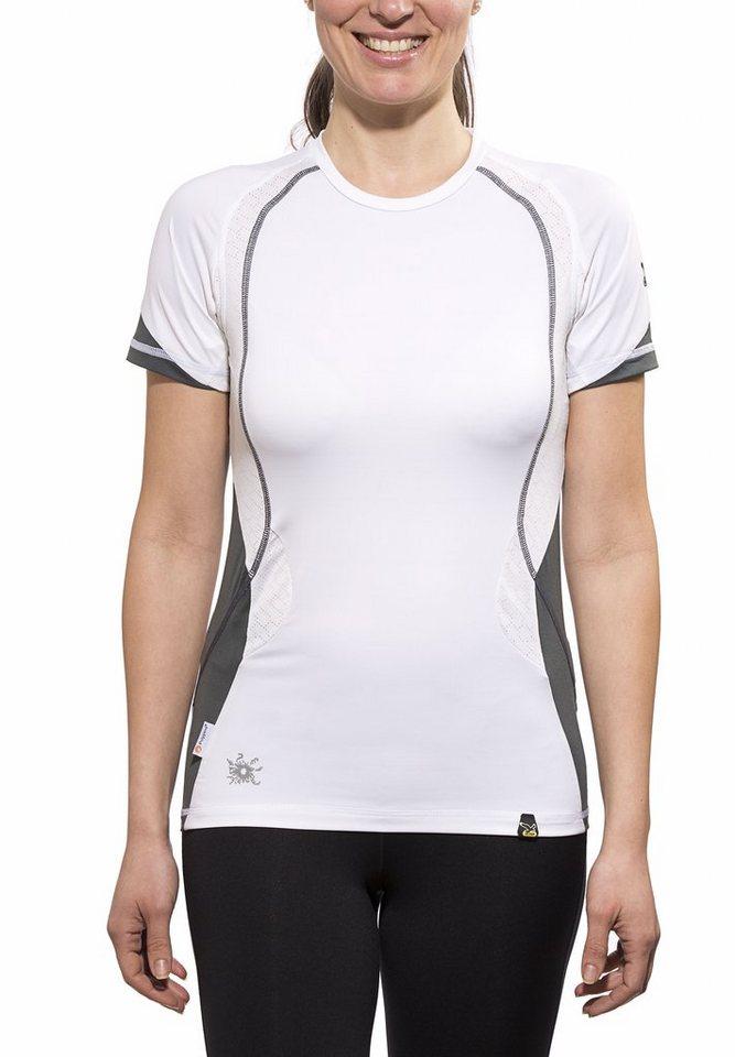 Salewa T-Shirt »Baghirati DRY S/S Tee Women« in weiß