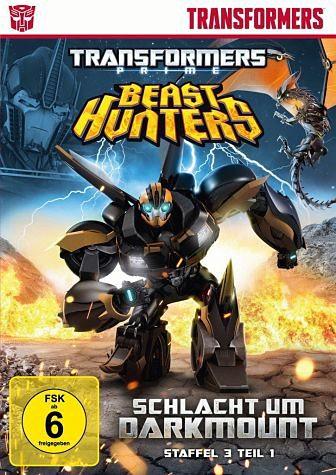 DVD »Transformers Prime - Beast Hunters: Schlacht...«
