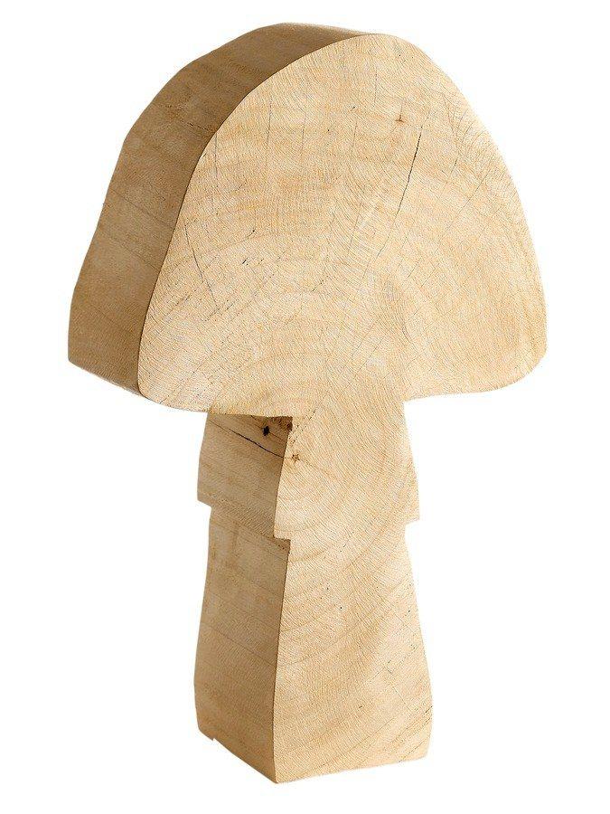 Deko-Figur Pilz in natur