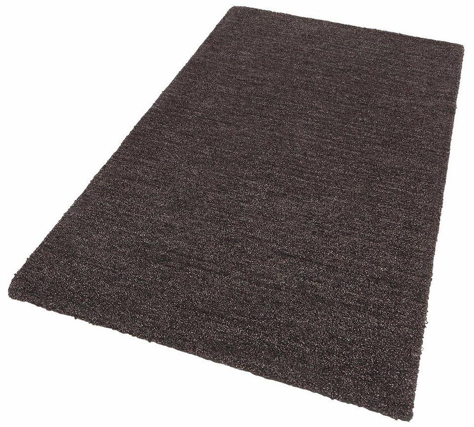 Teppich »Milano«, Theko exklusiv, rechteckig, Höhe 10 mm in grau
