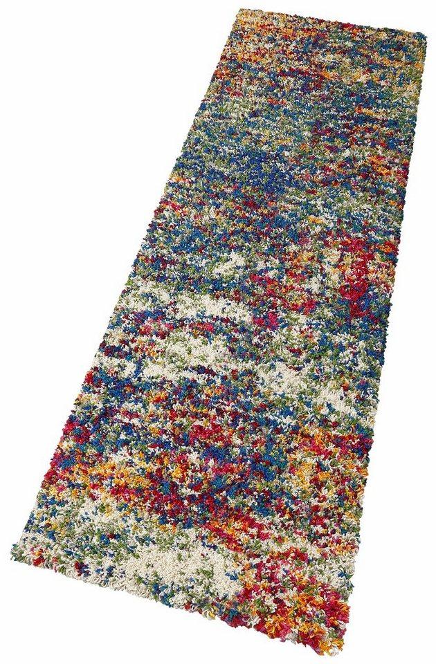 Hochflor-Läufer, oriental weavers, »Nadine«, Höhe 35 mm in bunt