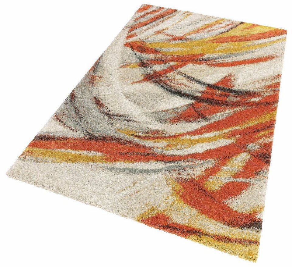 Teppich, my home, »Felicitas«, gewebt in natur orange