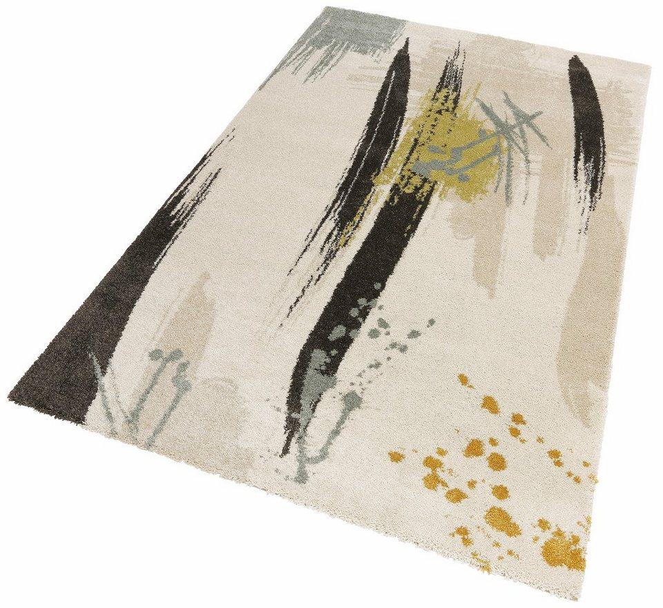 Teppich, my home, »Manuel«, gewebt in natur grau