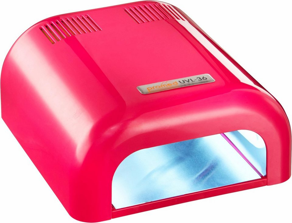 Promed, UV-Lichthärtungsgerät, UVL-36 in pink