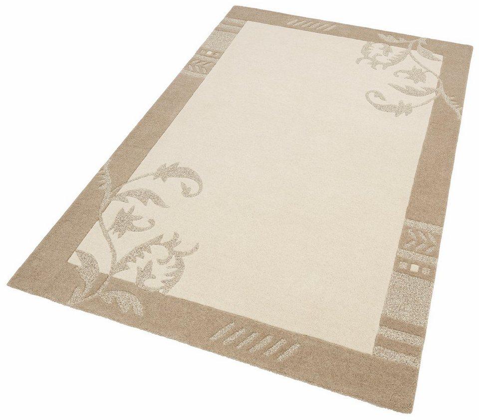 Teppich, Home Affaire Collection, »Miriam«, handgearbeitet, Schurwolle in natur