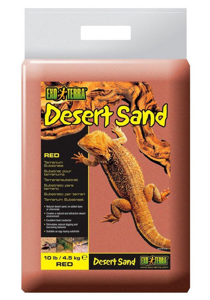 Terrariendeko »EX Desert Sand« in rot