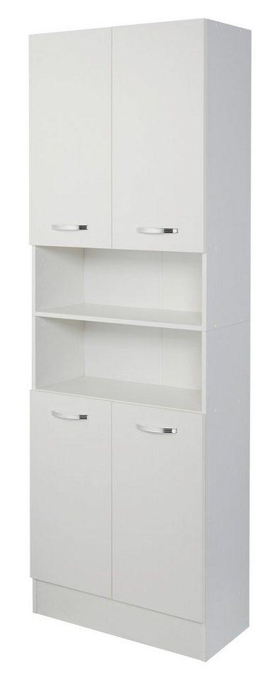 Kesper Hochschrank »Como«, Breite 65 cm in weiß