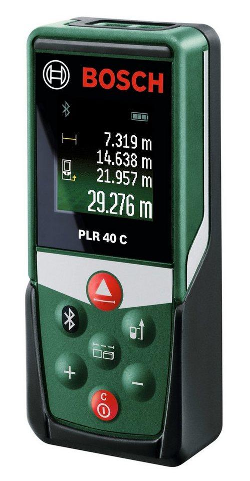 Laser-Entfernungsmesser »PLR 40 C« in grün