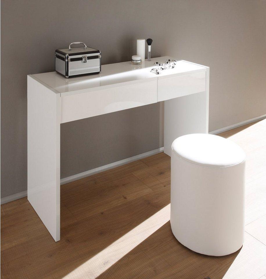 LC Schmink- bzw. Schreibtisch in weiß
