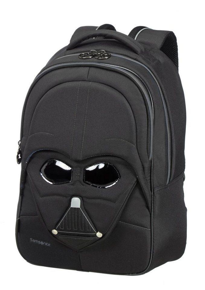 Samsonite Rucksack in 3D-Optik mit Reflektoren, »Star Wars™ - Darth Vader™« in schwarz