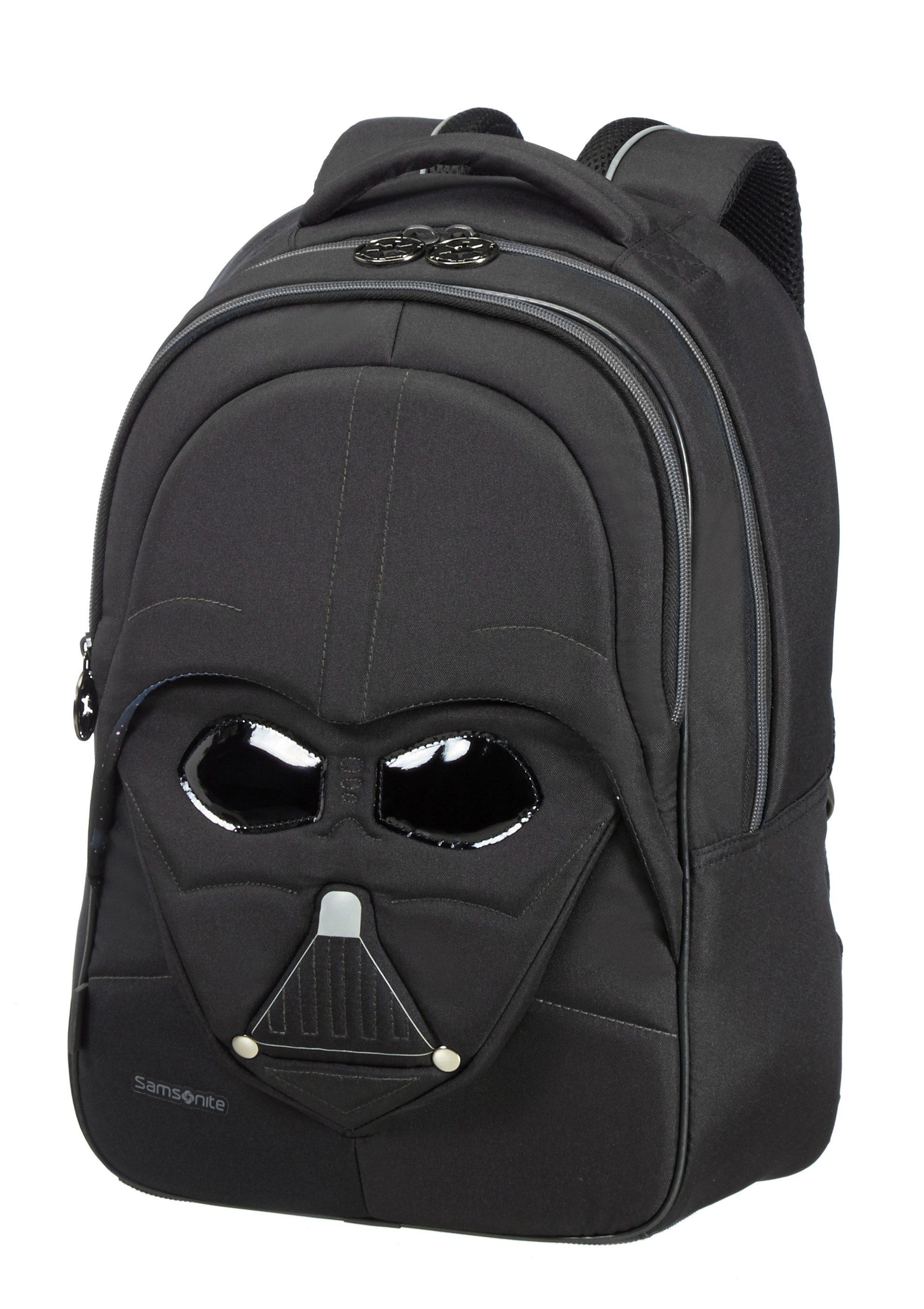 Samsonite Rucksack in 3D-Optik mit Reflektoren, »Star Wars™ - Darth Vader™«