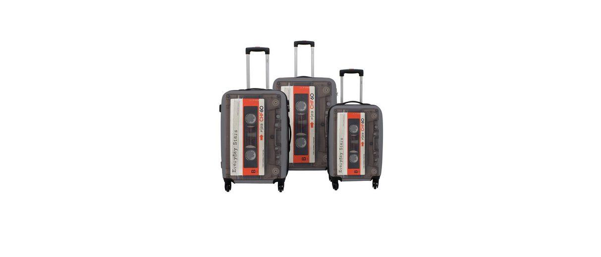 F23™ Hartschalen-Trolley-Set mit 4 Rollen, »Tape« (3-tlg.)
