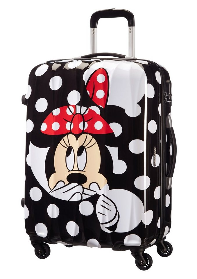 american tourister hartschalen trolley disney minnie mouse minnie dots online kaufen otto. Black Bedroom Furniture Sets. Home Design Ideas