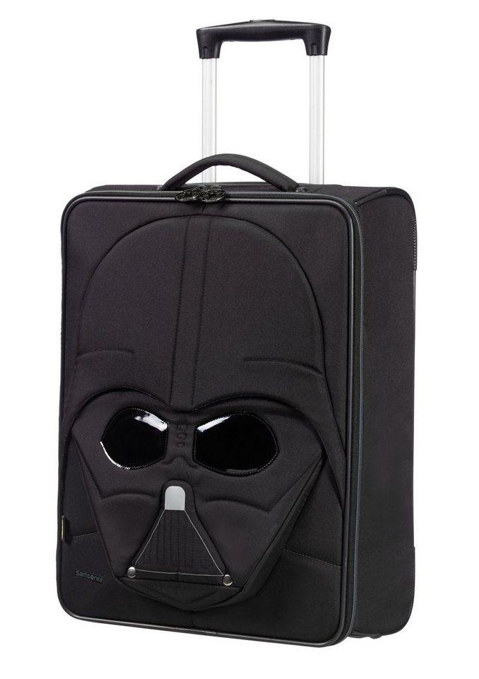 Samsonite Weichgepäck-Trolley mit 2 Rollen in 3D-Optik + Reflektoren, »Star Wars™ - Darth Vader in schwarz