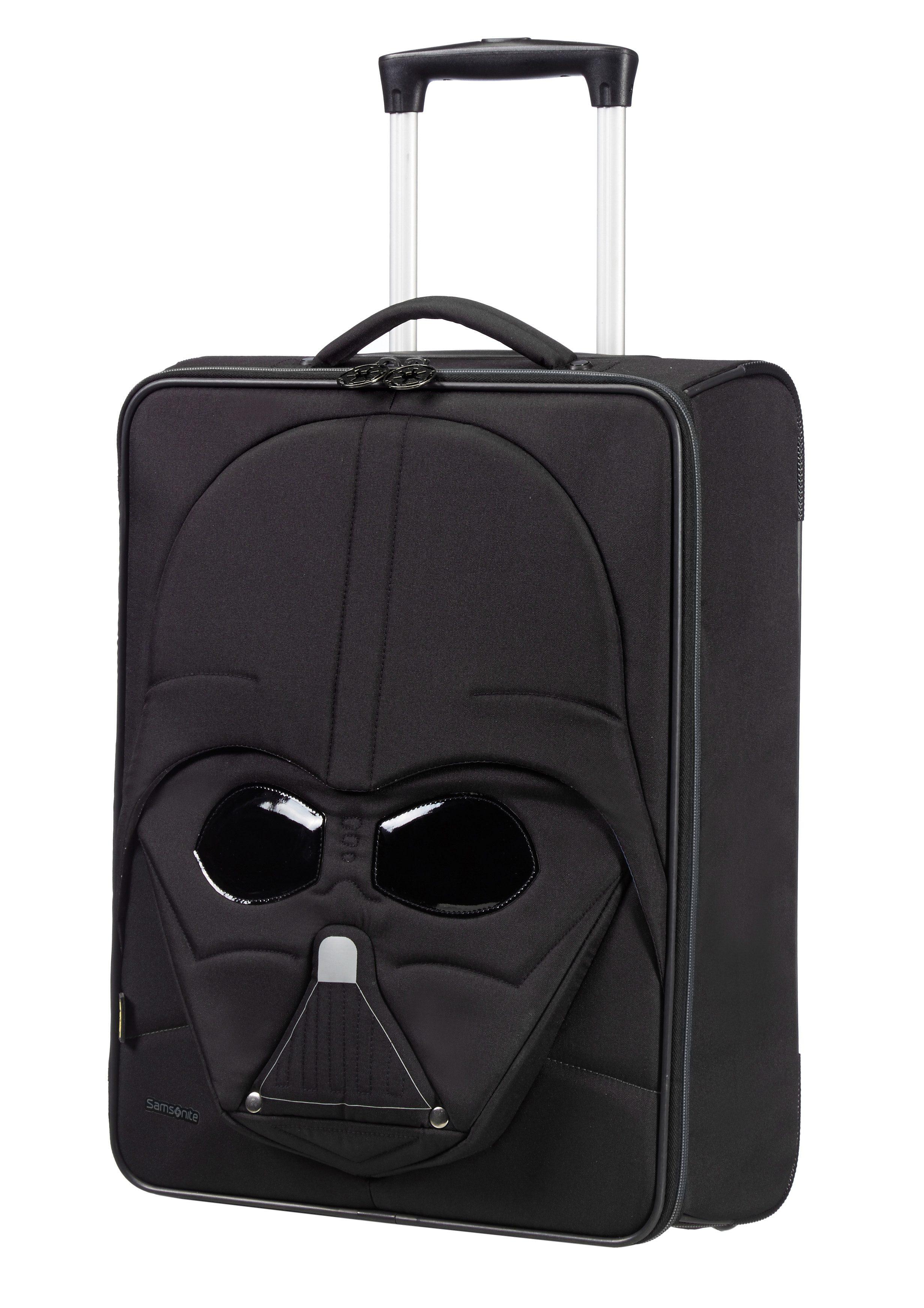 Samsonite Weichgepäck-Trolley mit 2 Rollen in 3D-Optik + Reflektoren, »Star Wars™ - Darth Vader