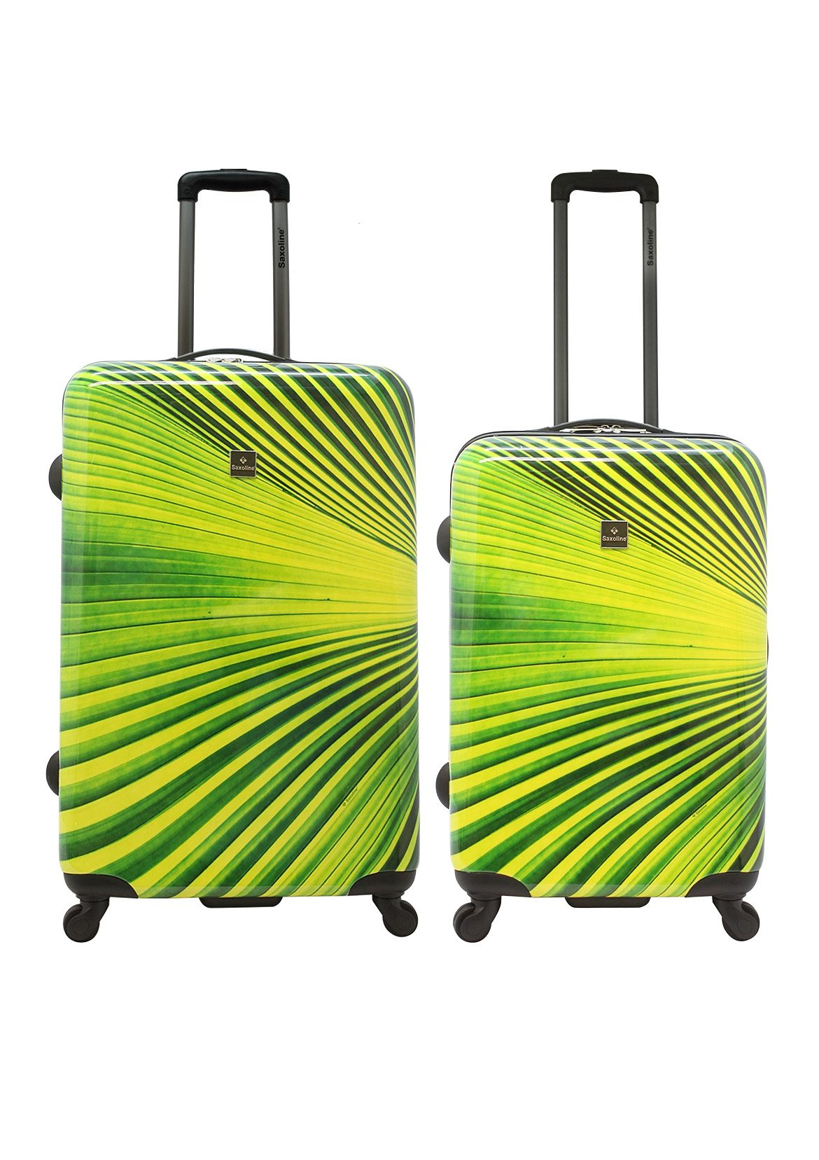 Saxoline Trolley-Set mit 4 Rollen, »Palm Tree« (2-tlg.)