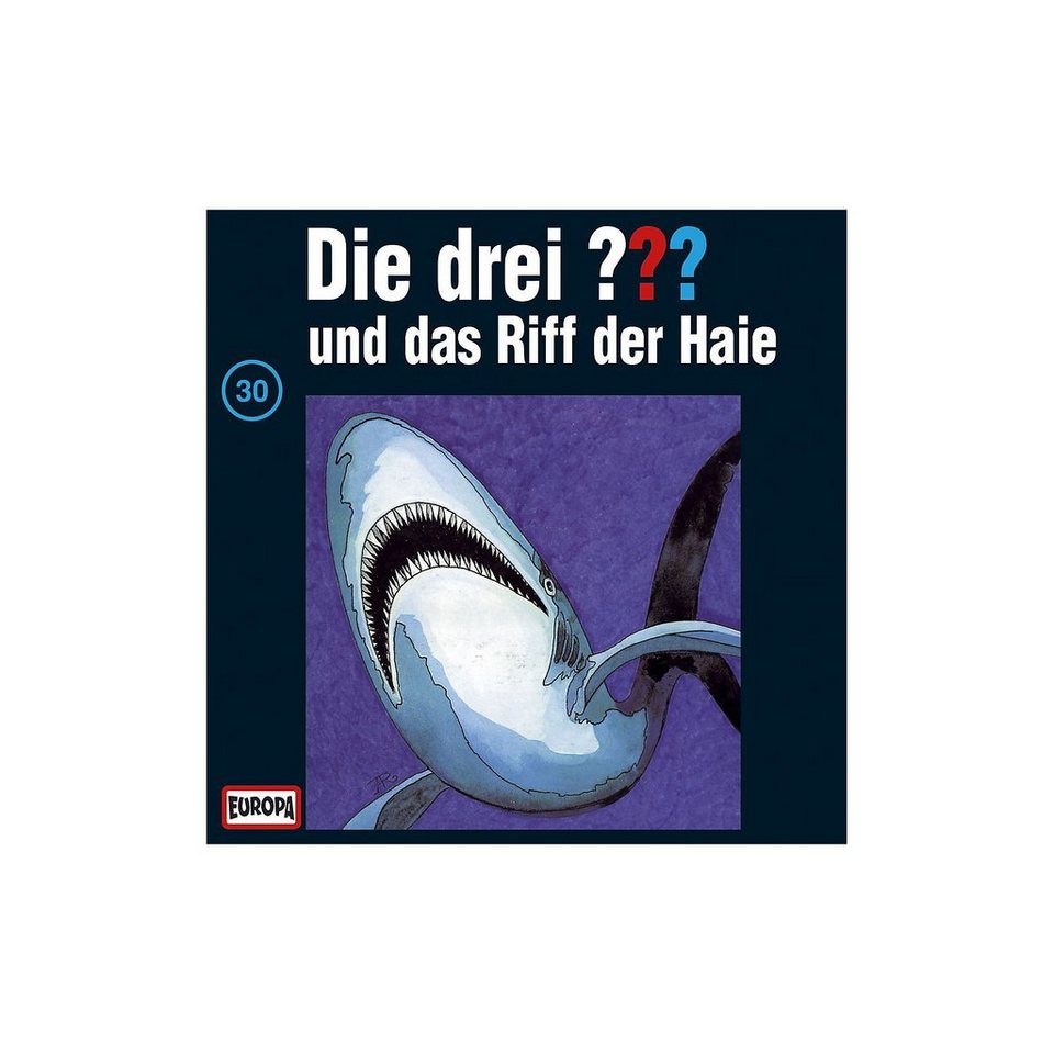 SONY BMG MUSIC CD Die Drei ??? 030/und das Riff der Haie