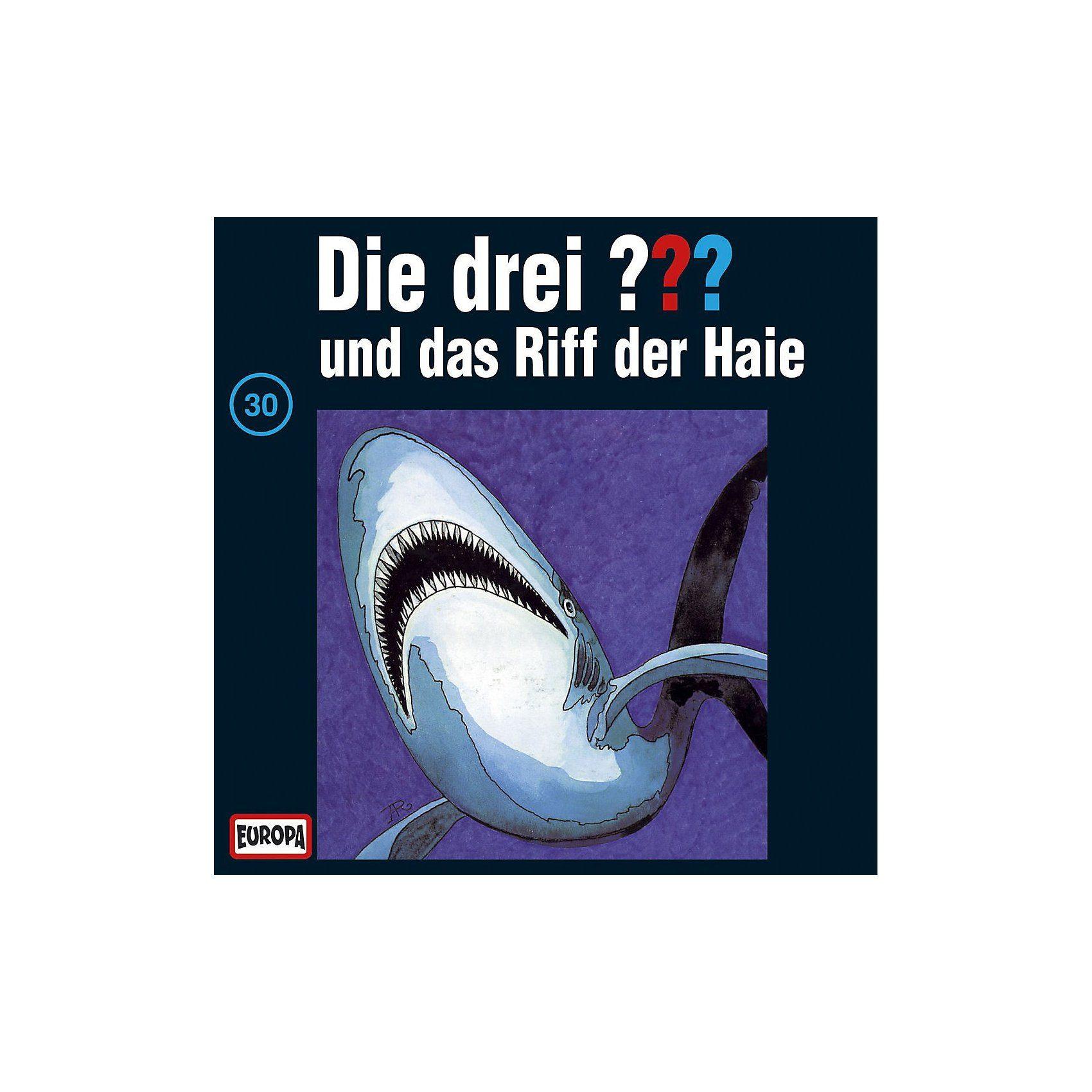 Sony CD Die Drei ??? 030/und das Riff der Haie