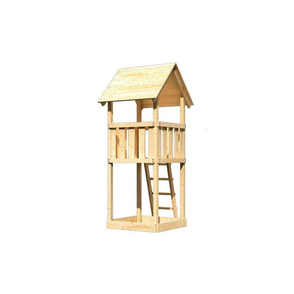 Karibu Spielturm Fidibus Satteldach