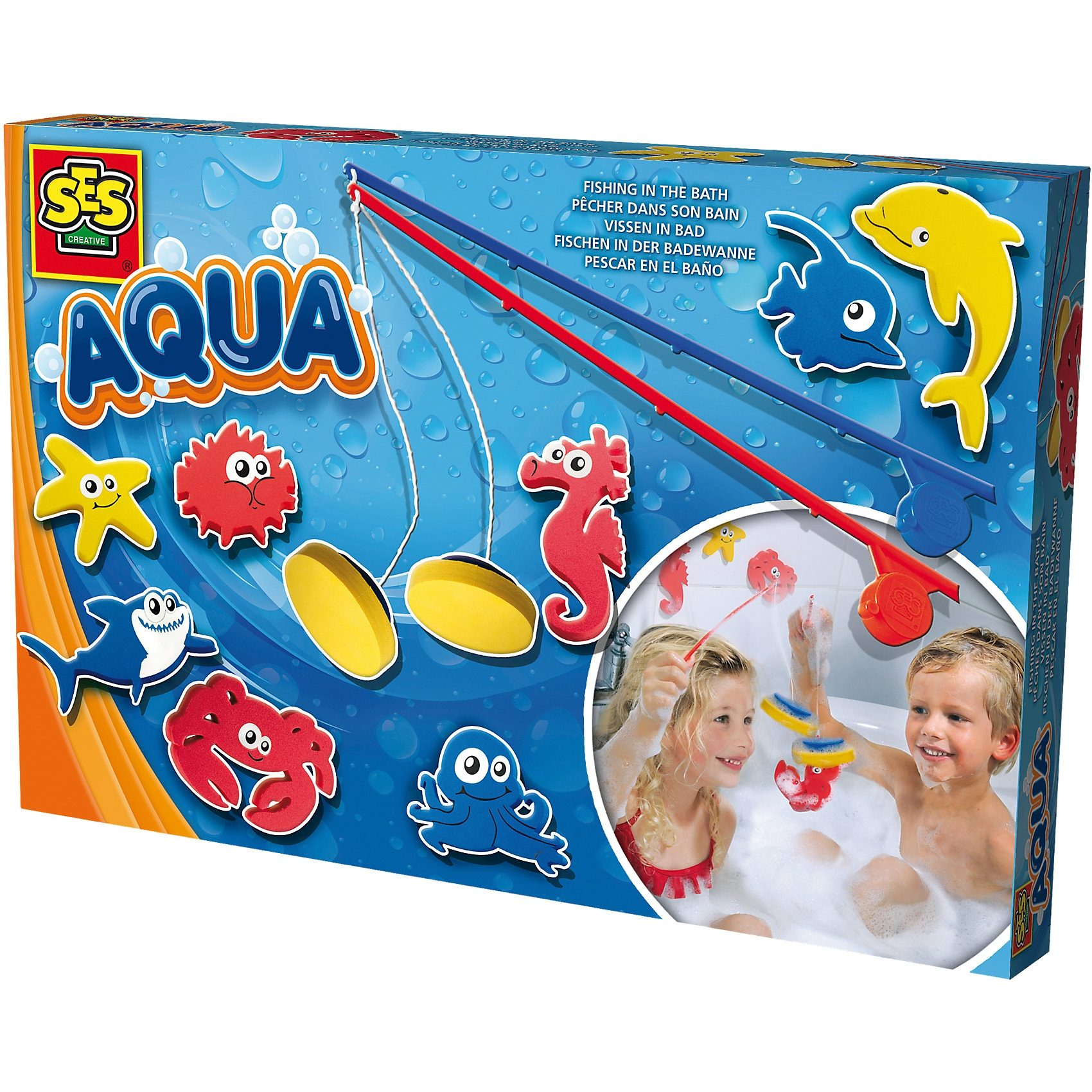 SES Creative 13025 AQUA Angeln in der Badewanne