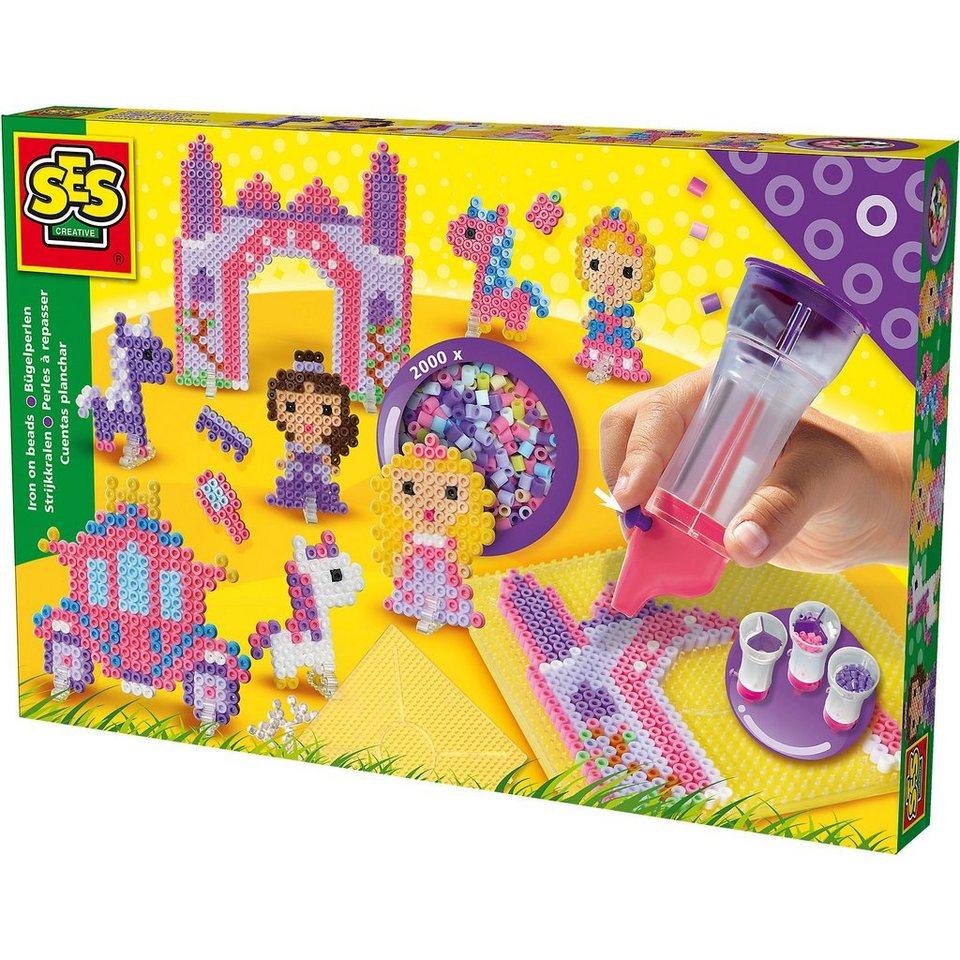 SES Creative Creative Bügelperlenset Princess World