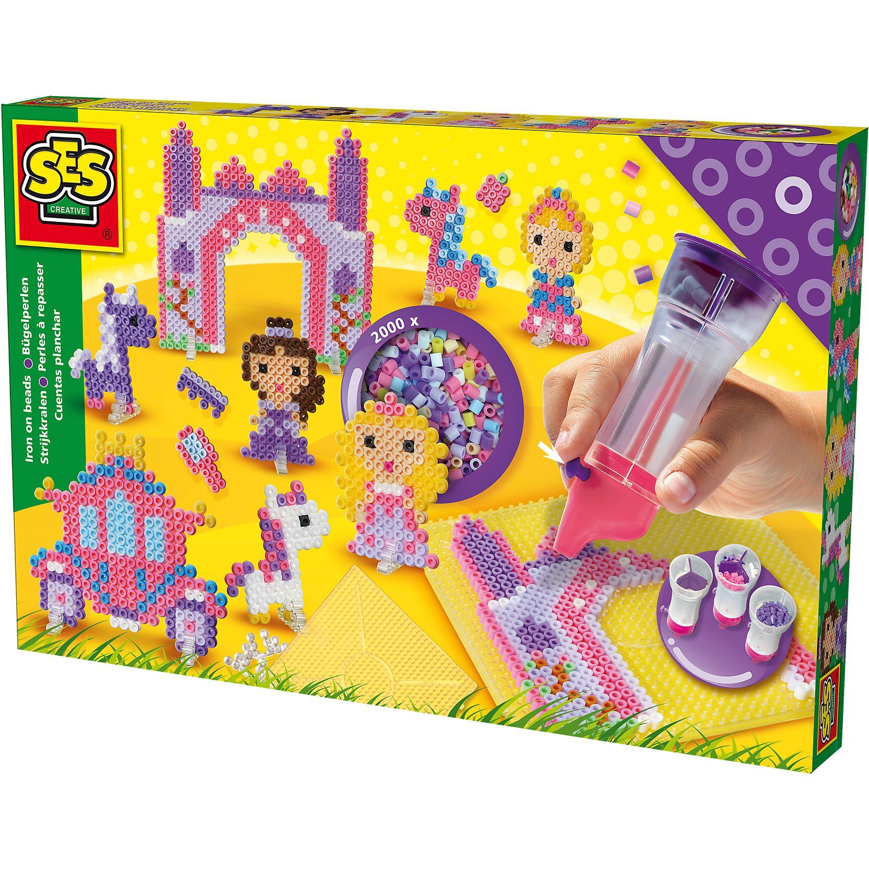SES Creative Creative Bügelperlenset  Princess World