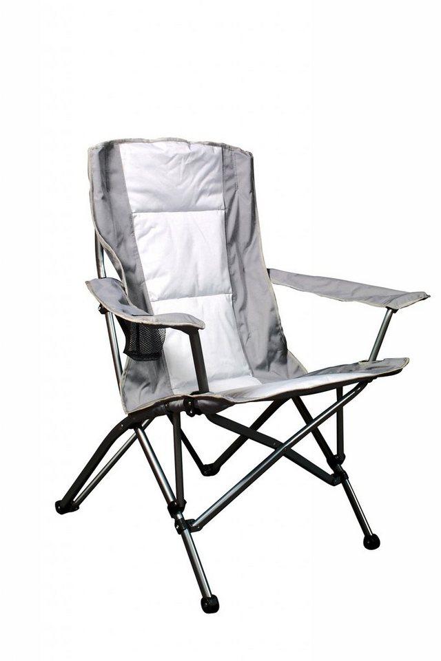 Relags Camping-Stuhl »Travelchair Lodge Comfort ST silber/grau« in weiß